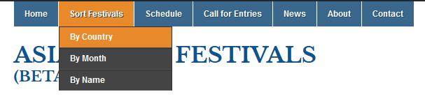 sortfestival